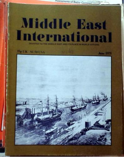 middle east international - june 1975 n°48 london 34p buen e