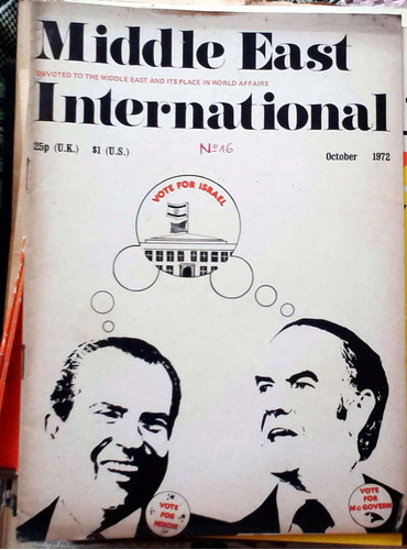 middle east international - oct 1972 n°16 london 30p buen es