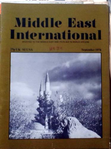middle east international - sep 1974 n°39 london 34p buen es