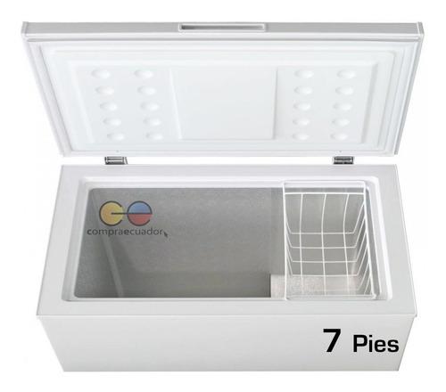 midea congelador refrigerador horizontal 198 l cerradura