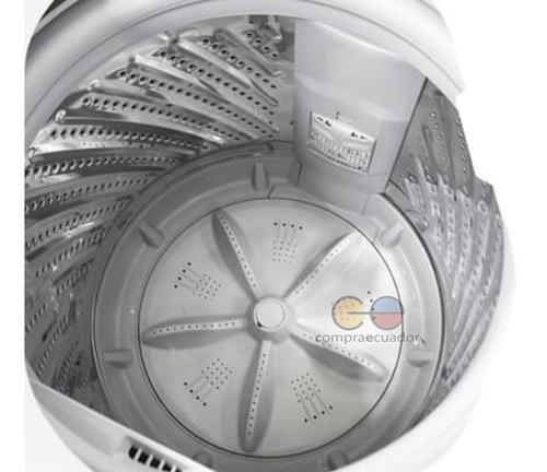 midea lavadora carga superior 16kg 35 libras vidrio templado