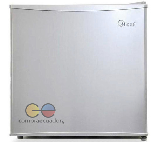 midea mini bar nevera refrigeradora 1.8 pies 50 litro silver