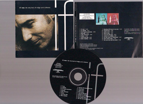 midge ure & ultravox -the very best - cd - by maceo