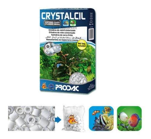 midia ceramica crystalcil 500g 1l prodac aquário até 250l