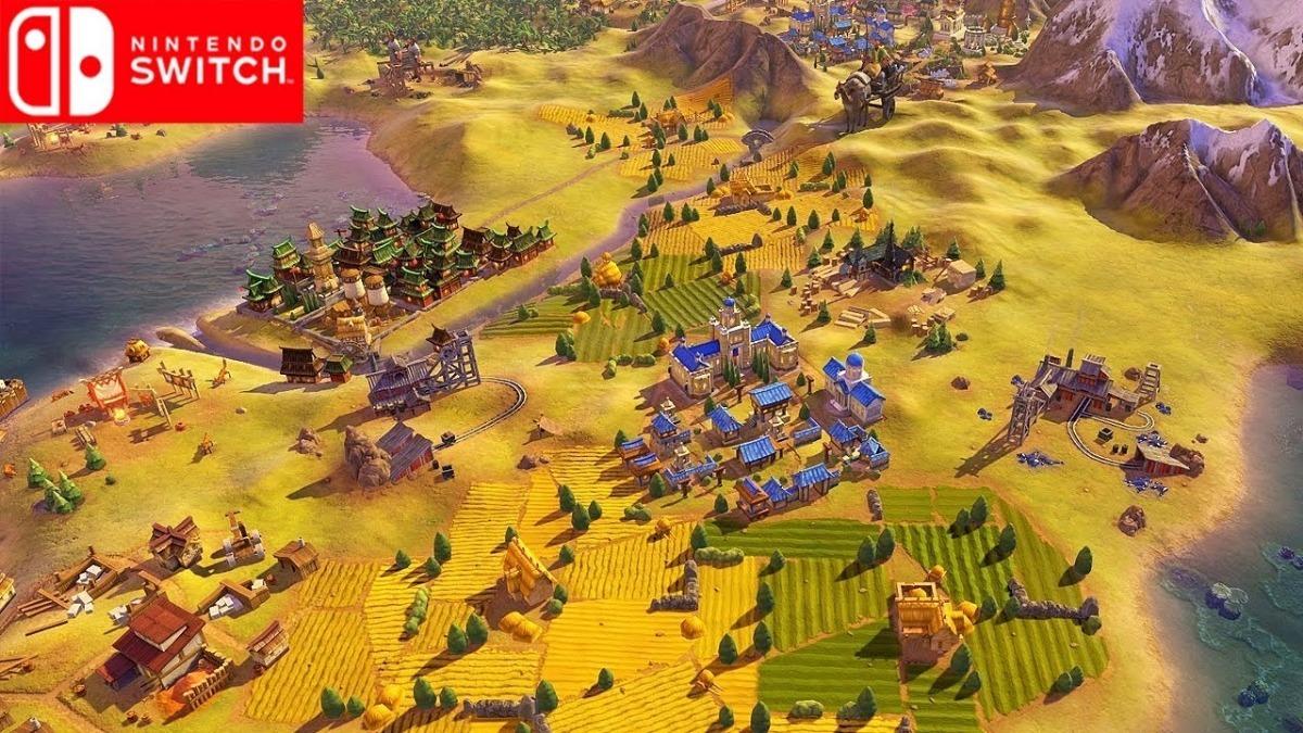 Mídia Física Sid Meier's Civilization Vi Switch - Lacrado!