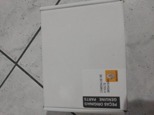 midia nav + antena gps + kit câmera de ré original renault .