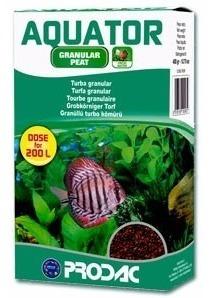 midia prodac aquator 400g turfa granular aquário até 250l
