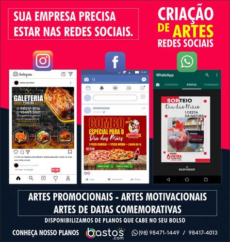 mídias digitais - criação de artes profissionais