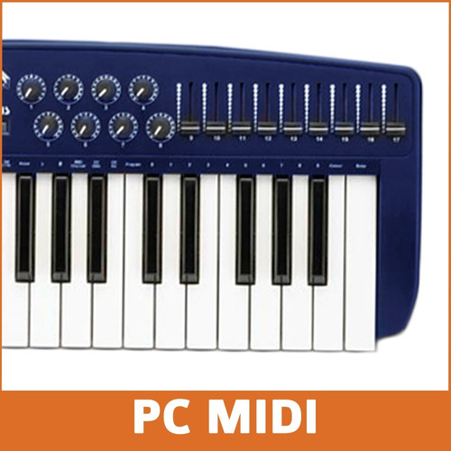 midiplus origin 37 midi controller 37 teclas sensitivo knobs