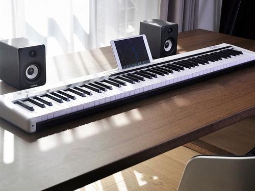 midiplus pop piano 88 teclas sensitivas 128 sonidos promo