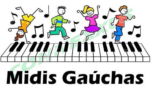 midis gaúchas para teclados - midis de bandas do sul