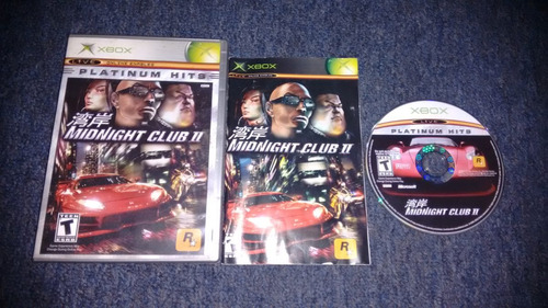 midnight club ii completo para xbox normal,excelente titulo