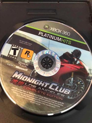midnight club l.a complete edition xbox 360