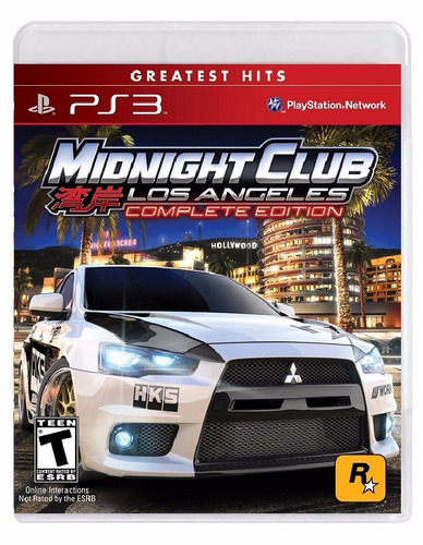 midnight club los angeles complete edition - ps3