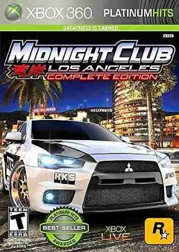 midnight club: los ángeles (platinum hits)