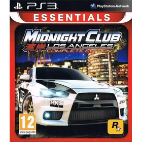 Midnight Club Los Angeles Ps3 Complete Ed