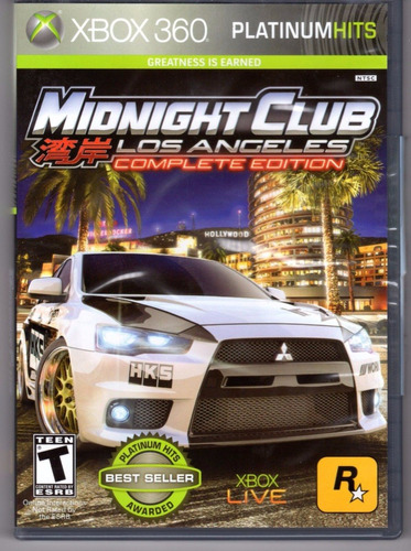midnight club los angeles xbox 360 play magic