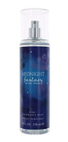 midnight fantasy body splash de britney spears 236ml nuevo !