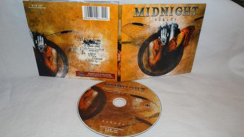 midnight ~ sakada (digipack crimson glory)