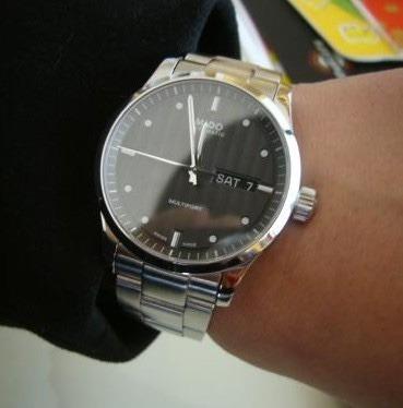 mido masculino relógio