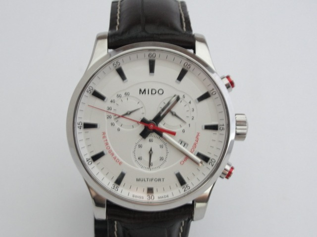 3ab5abade08 mido masculino relógio · relógio mido multifort - masculino - m005. 417.16.031.10