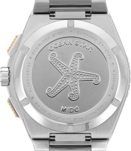 mido ocean star m023.417.11.041.00 cronógrafo reloj hombre