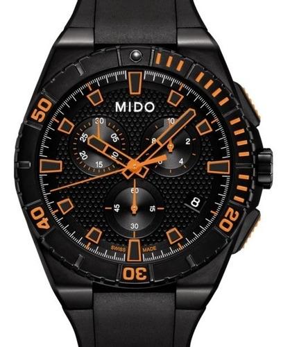 mido ocean star m023.417.37.051.09 cronó buceo reloj hombre