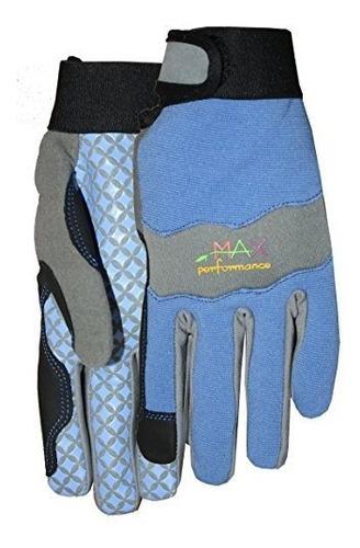 midwest 400h8pur8az6 sintetico guantes de piel mujer 8 mujer