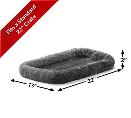 midwest deluxe bolster pet cama para perros y gatos
