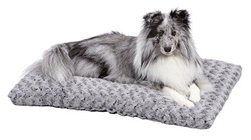 midwest quiet time cama para mascotas deluxe grey ombre swi