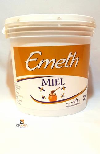 miel 6 kg emeth