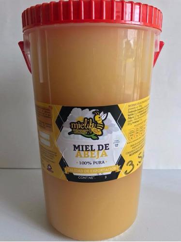 miel de abeja 100 % natural 3.5kgs flor de mezquite. mielife