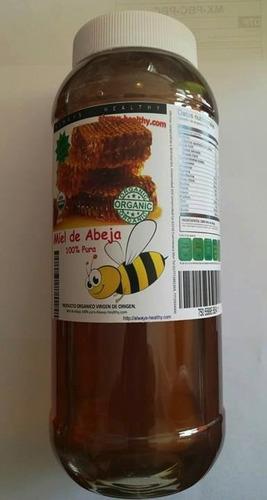 miel de abeja 100% pura organica 1 lt