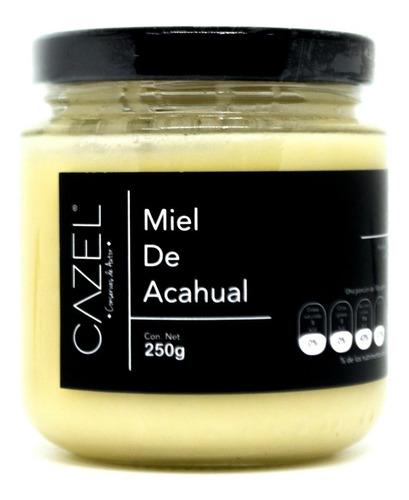 miel de flor de acahual pura natural oaxaca 250g