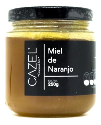 miel de flor de naranjo pura natural oaxaca 250g