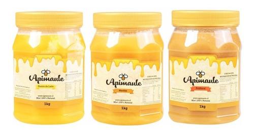 miel diente de león, mardón o polifloral, 1 kg - caja 6 uds.