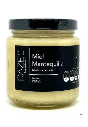 miel mantequilla multiflora pura de abeja 250g oaxaca