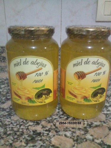 miel pura  100 % natural x 10 kg. en balde