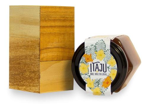 miel pura  itaju  x250g con caja - línea gourmet