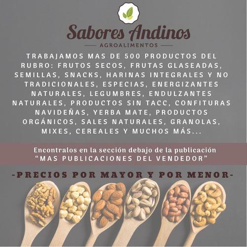 miel pura multifloral 500g - sabores andinos / envios