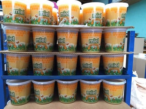 miel pura sin aditivos pack 4 kilos + envio gratis!