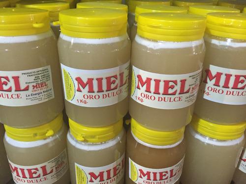 miel pura solida cordoba 6un x 1kg