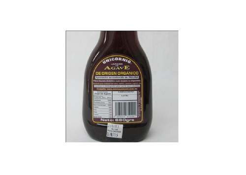 miel/jarabe de agave 100% orgánico botella 680 gr