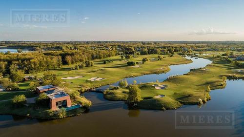 mieres propiedades- terreno de 2703 mts en estancias golf
