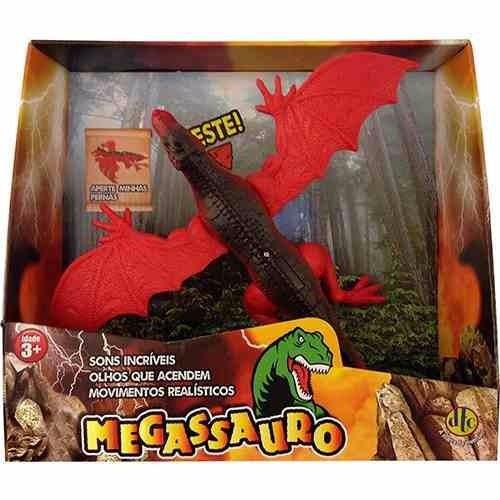 mighty dino megassauro dinossauros som e movimento dtc 3593