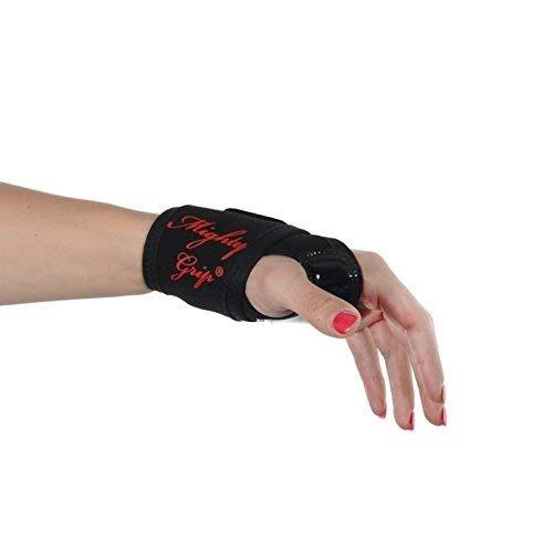 mighty grip banda de soporte para muñeca y pulgar con...