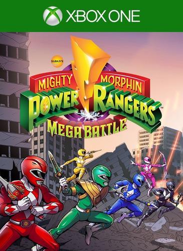 mighty morphin power rangers battle xbox on n codigo offline