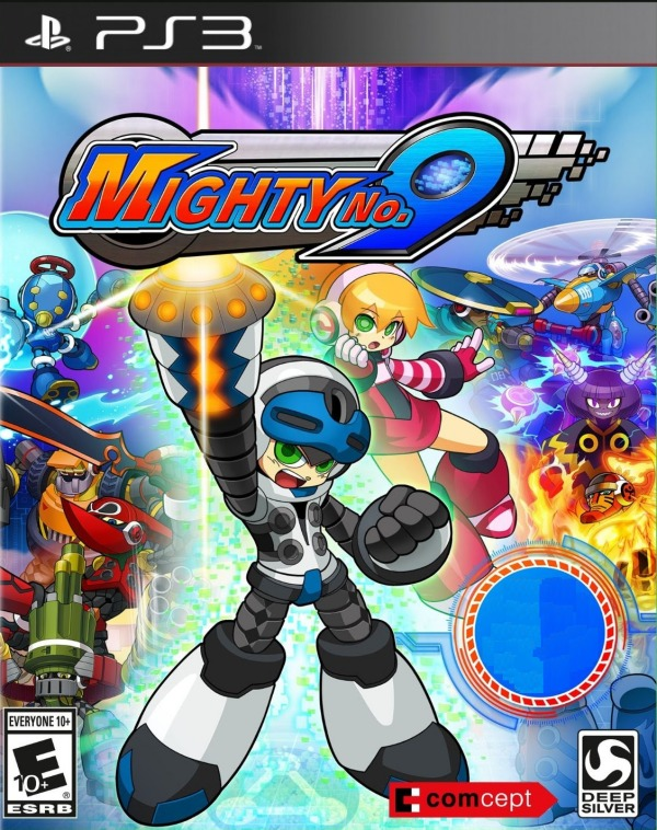 mighty no. 9 - playstation 3 ps3