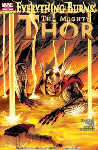 mighty thor / journey into mystery arco todo (2011) marvel
