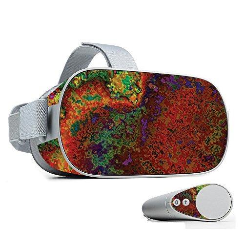 mightyskins skin para oculus go mobile vr - rust | cubierta